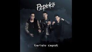 TERLALU CEPAT - PAPINKA  karaoke download ( tanpa vokal ) cover