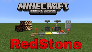 Sistema De Redstone - Minecraft PE v0.12.3 (MOD)