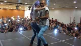 getlinkyoutube.com-ALBIR & SARA kizomba choreography in FEELING KIZOMBA FESTIVAL MADRID 2013