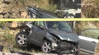 Fuerte colisión de varios vehículos en la Interestatal 435 deja varios heridos