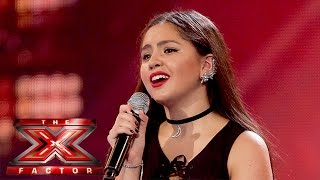 getlinkyoutube.com-Havva gives a stand-out performance of No Diggity | The 6 Chair Challenge | The X Factor UK 2015