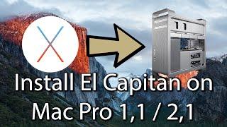 getlinkyoutube.com-Tutorial: Install El Capitan on Mac Pro 1,1 2,1 [Easy]
