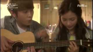 Drama Monstar, Seol Chan (Yong Joon-Hyung,Beast) and Se Yi (Han Yeon Soo) Singing and Playing Guitar