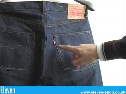 Vintage Levi's from the 1930's - 1960's Big 'E' Levi lvc selvedge