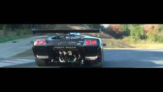 getlinkyoutube.com-OHNISHI HEAT MAGIC [LAMBORGHINI DIABLO GTR] Titan Muffler Exhaust Sound
