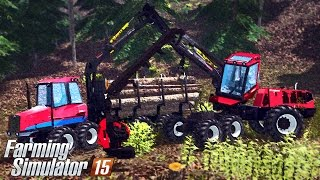 getlinkyoutube.com-Farming Simulator 15 - Valmet 840 & Valmet 931 Gameplay