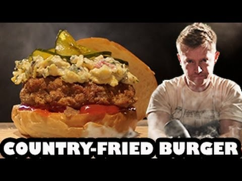 Down South Country-Fried Burger Recipe - Burger Lab