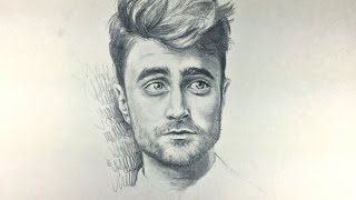 getlinkyoutube.com-How to Draw Male Features (feat. Daniel Radcliffe)