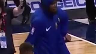 Kevin Durant Pregame Dance Moves Are Something To Watch