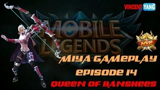 getlinkyoutube.com-Mobile Legends Gameplay - Episode 14: Queen Of Banshees Skin | Miya Builds [MVP] Update 1.1.40