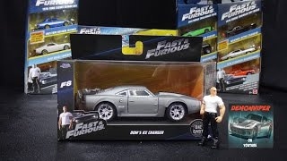 getlinkyoutube.com-Fast & Furious 8 - Dom's Ice Charger -  Jada Toys 1:32 Unboxing