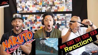 Naruto vs Sasuke!! Super Naruto Reaction! First time waching Nartuo Episode 130 131 132 133