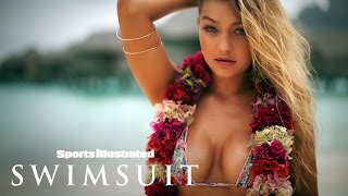 getlinkyoutube.com-Gigi Hadid's Sexiest Moments From Tahiti | Irresistibles | Sports Illustrated Swimsuit