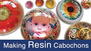 getlinkyoutube.com-Making Resin Cabochons (half-spheres)