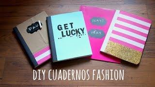 getlinkyoutube.com-DIY cuadernos bonitos para regreso a clases.