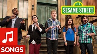 getlinkyoutube.com-Sesame Street: Pentatonix Counts (& Sings) to Five