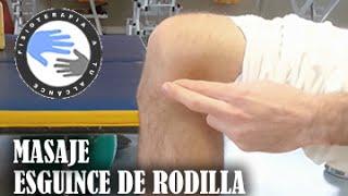 getlinkyoutube.com-Esguince de rodilla masaje, como autotratar tu lesion