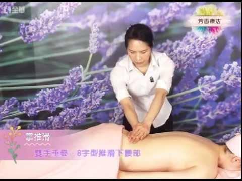 芳香療法:按摩手技-2.掌推滑