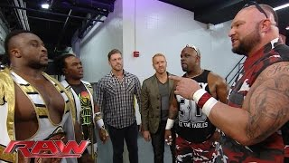 getlinkyoutube.com-Seth Rollins, The New Day, Edge & Christian and The Dudley Boyz cross paths: Raw, September 7, 2015