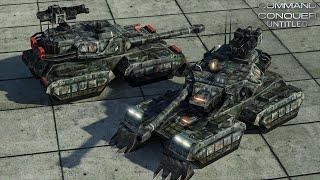 C&C Untitled - Skirmish with Kwai, Tanks [720p 60fps]