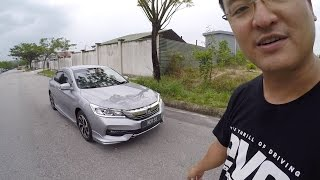 2016 Honda Accord 2.0 Facelift Full Driving Review In Malaysia