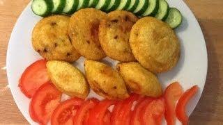 getlinkyoutube.com-مطبخ الاكلات العراقيه - كبة تمن مقليه ( كبة حلب )