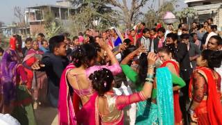 New Tharu video 2073 weding dance band baja   (kohalpur 12 chapargudi)