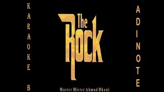 The Rock   Munajat Cinta (Karaoke / Cover Instruments By AdieNote)