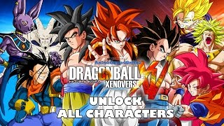 getlinkyoutube.com-Dragon Ball Xenoverse - How to Unlock All Characters