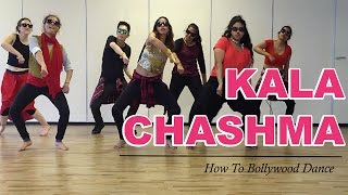 Kala Chashma (Baar Baar Dekho)    How to Bollywood Dance-Tutorial    by Francesca McMillan