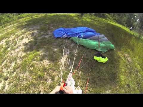 350 foot BASE jump