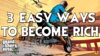 getlinkyoutube.com-GTA V: 3 EASY ways to become rich! (No exploits/glitches)