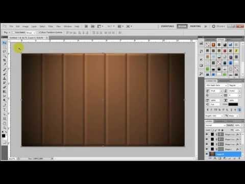 انشاء خلفية خشبية - فوتوشوب