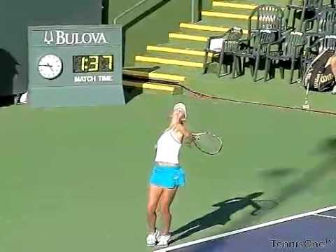 Victoria Azarenka - Serve - Slow Motion