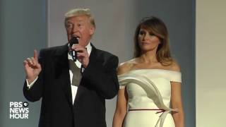 getlinkyoutube.com-WATCH: President Donald Trump and First Lady Melania Trump dance at the Liberty Ball