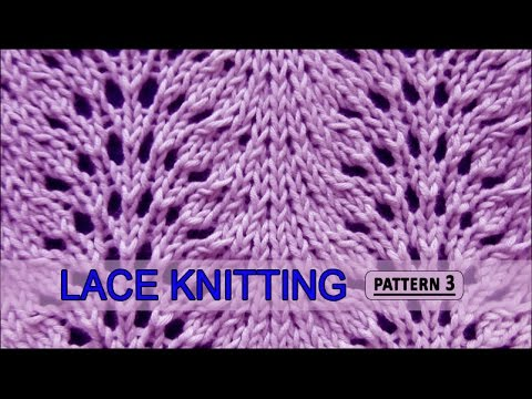 Feather and Fan  |  Lace Knitting Pattern #3