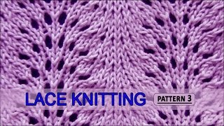 getlinkyoutube.com-Feather and Fan  |  Lace Knitting Pattern #3