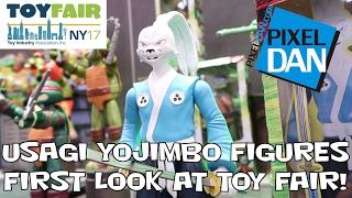 getlinkyoutube.com-Usagi Yojimbo Teenage Mutant Ninja Turtles Figures EXCLUSIVE FIRST LOOK at Toy Fair 2017