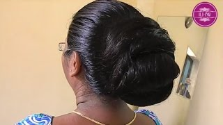 getlinkyoutube.com-ILHW Model of The Month December 2014 Reshma Hair Washing, Drying, Detangling and Hair Styling Video