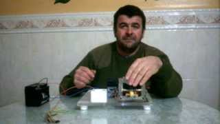 getlinkyoutube.com-Inversor de 12v a 220v 1.000w con el transformador de un microondas terminado