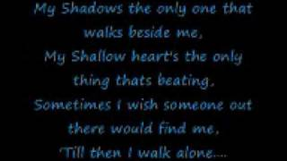 getlinkyoutube.com-Boulevard of Broken Dreams by Green Day Lyrics