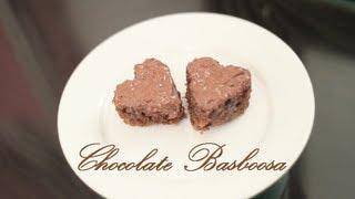 "getlinkyoutube.com-بسبوسة جالكسي! أسهل حلى! ""اسـأل مجرب "" how to make chocholate basboosa"