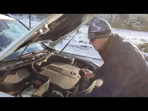 Mercedes GLK: Снова проверяем уровень антифриза