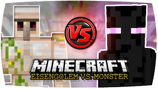 getlinkyoutube.com-EISENGOLEM VS. ENDER LORD   Minecraft: Eisengolem vs. Monster • #63   Legendary Beasts Mod