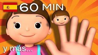 getlinkyoutube.com-La familia dedo | Y muchas más canciones infantiles | ¡60 min de LittleBabyBum! HD