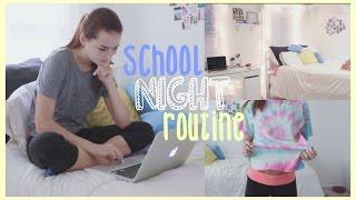 getlinkyoutube.com-School Night Routine! 2015 | Reese Regan