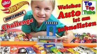 getlinkyoutube.com-Mattel Speedometer Wettkampf Hot Wheels Matchbox Siku Spielzeug Autos Challenge Kinderkanal
