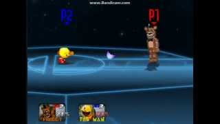 getlinkyoutube.com-SSBUltimate (SSBCrusade): Freddy Fazbear  Vs Pac-Man