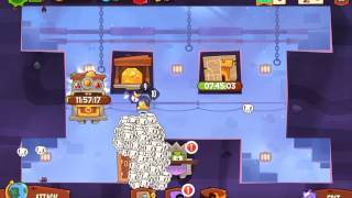 King of Thieves - jump on wooden platform in wall!