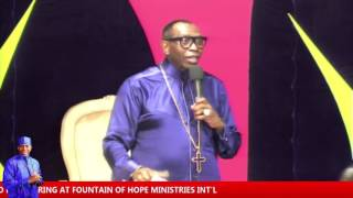 THE GOD OF DIVINE SPEED PART 1 (SUNDAY SERVICE) - 26/06/2016 width=